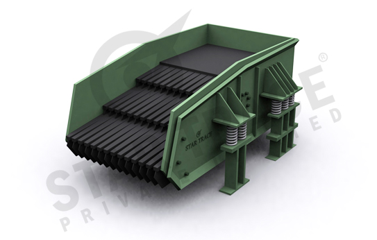 Manufacturers of Vibrating Grizzly Feeders for Sale India